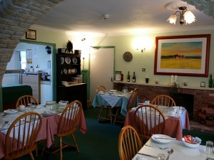 Guesthouse Rempstone Breakfast Room