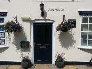 Guesthouse Rempstone - Front Entrance